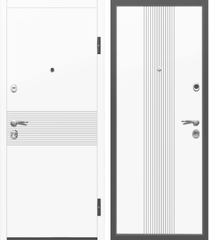 Вариант двери: Эмаль, белая линии