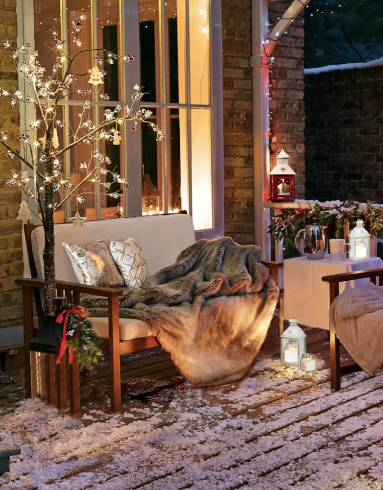 Встречаем зиму на даче