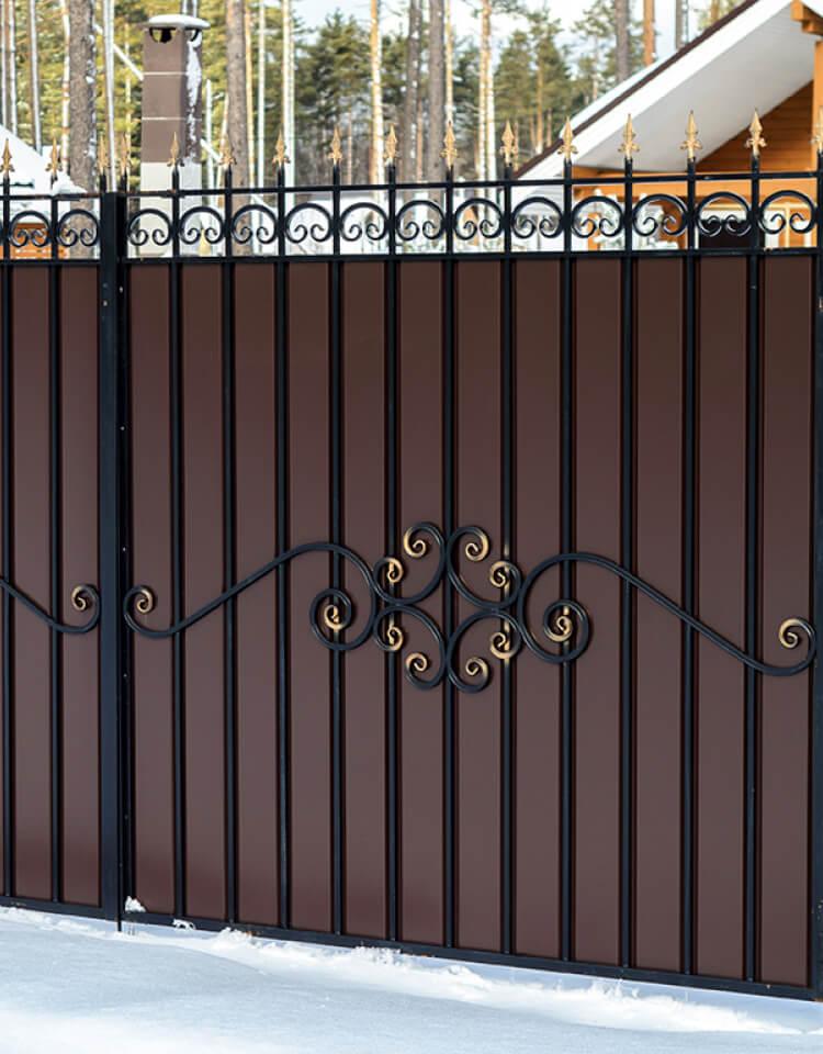Заборы, калитки, ворота