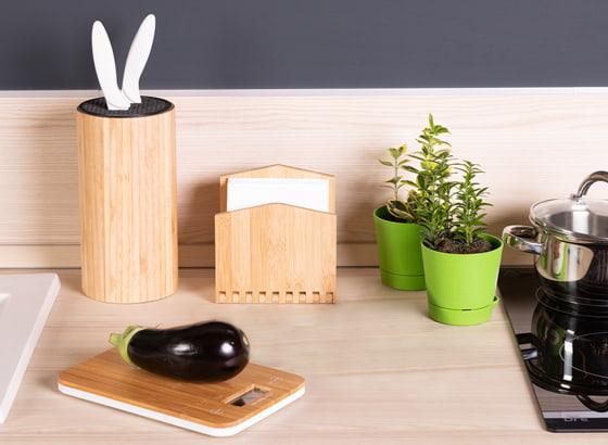 Мелкие деревянные товары для кухни