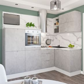 кухня леруа бетон