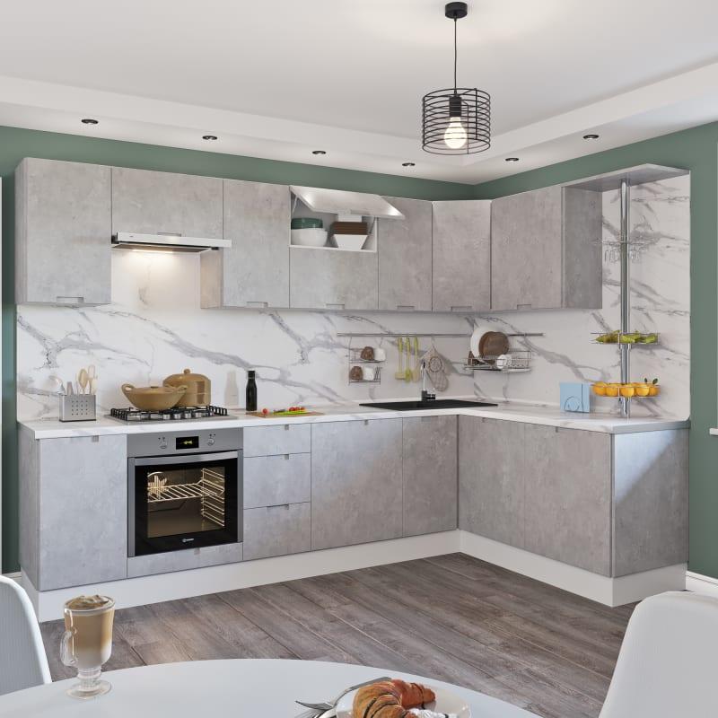 Кухня леруа бетон купить бетон в ярославле цена с доставкой от производителя