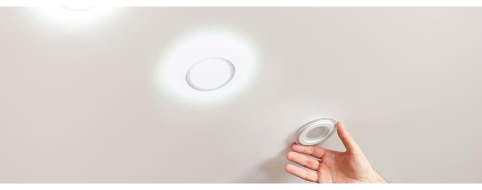 Виды и установка точечных светильников