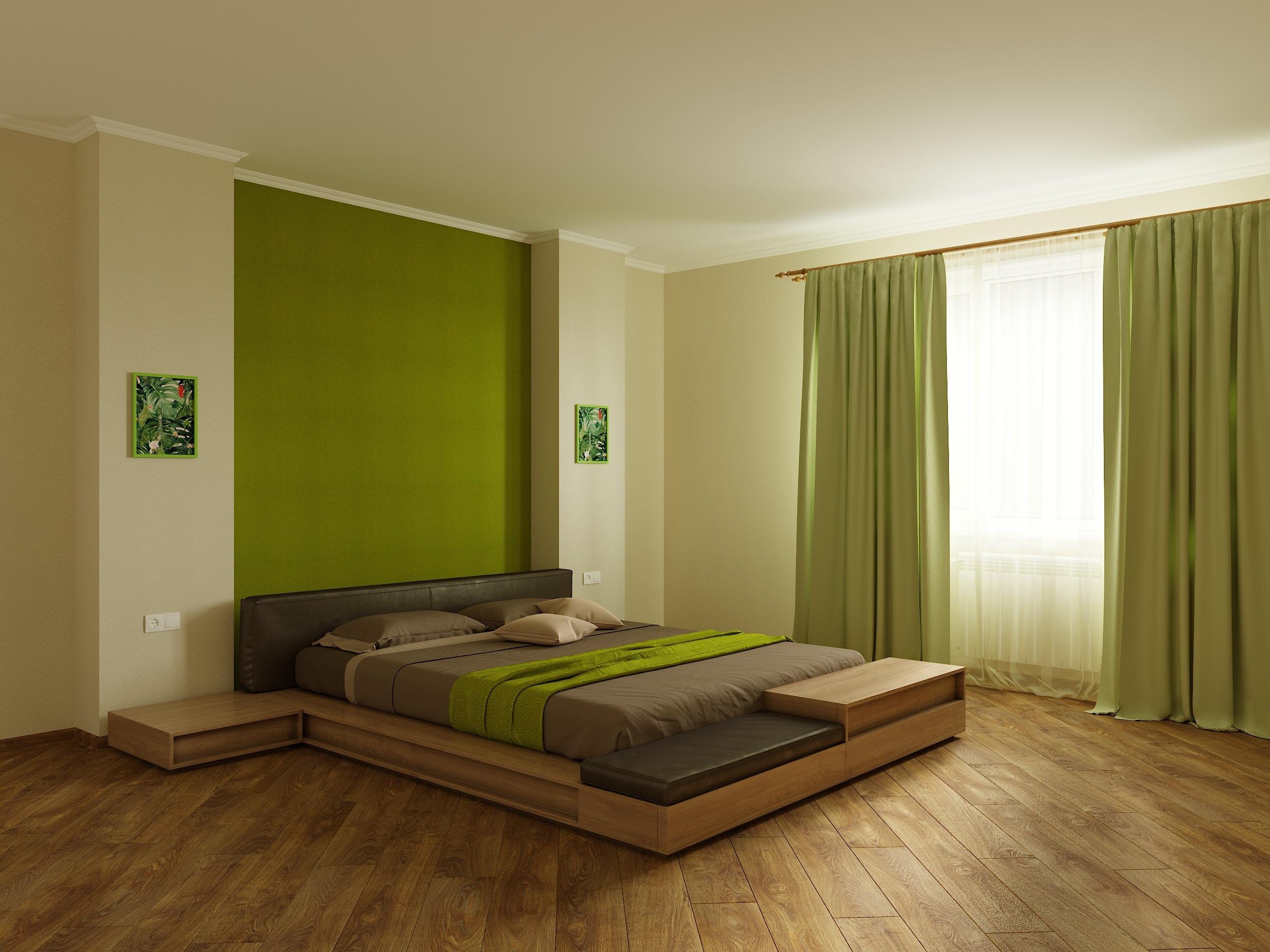 природные оттенки в спальне готовое решение в интернет магазине