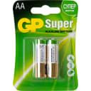 Батарейка алкалиновая GP 15AA, 2 шт.