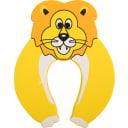 Блокиратор двери «Лев» CD5077, резина, цвет жёлтый