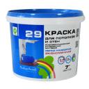 Краска водоэмульсионная Радуга-29 цвет белый 7 кг