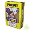 Штукатурка цементная Profit Контакт для блоков кирпича и бетона 25 кг