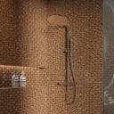 Мозаика Artens, 30х30 см, стекло, цвет бежевый