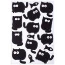 Наклейка «Чёрные котики» Декоретто S