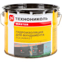Мастика битумная AquaMast Гидроизоляция Фундамента, 3 кг