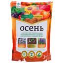 Удобрение «Долина плодородия» осень ОМУ 3 кг
