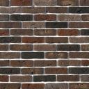 Камень искусственный White Hills Лондон Брик темно-коричневый 1.16 м²