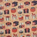 Бумага упаковочная крафт «Игрушки» 50х70/2 листа