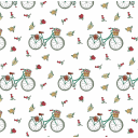Бумага упаковочная «Велосипед» 50х70/2 листа