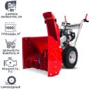 Снегоуборщик бензиновый Мобил К С65LC170FS, 65 см. 7 л/с, зимний двигатель