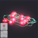 Гирлянда светодиодная Uniel «Клубника» на батарейках 4 м цвет красный