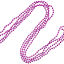 Гирлянда «Бусы» 270 см цвет розовый