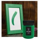 Краска акриловая Aturi цвет зелёный 60 г