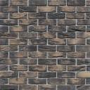 Камень искусственный White Hills Торн Брик темно-серый 1.18 м²