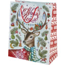 Пакет подарочный «Олень в свитере» 26x32 см