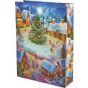 Пакет подарочный «Рождественская площадь» 33x46 см
