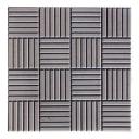 Плитка тротуарная «Сетка», 300х300х30 мм, цвет серый