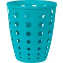 Контейнер для мусора «Евро» 13.5 л цвет голубой