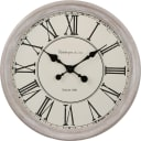 Часы настенные «Прованс» 48 см цвет бежевый