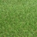 Покрытие искусственное «Трава» толщина 15 мм ширина 4 м цвет бежевый/зелёный