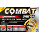 Ловушка для тараканов Combat Professional 10 шт.
