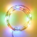 Электрогирлянда комнатная Uniel Роса 2 м 20 LED мультисвет на батарейках