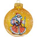Шар ёлочный «Дед Мороз» N1 85 мм в коробке