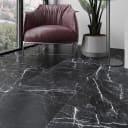 Керамогранит Cersanit Diva 42x42 см 1.58 м² цвет чёрный