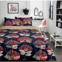 Комплект постельного белья Amore Mio Фэнтази двуспальный сатин белый