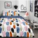 Комплект постельного белья Amore Mio Сезанн полутораспальный сатин белый