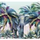 Фотообои «Слон Хатхи» 3D флизелиновые 300х270 см L12-973
