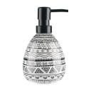 Дозатор для жидкого мыла Nomads цвет белый/чёрный