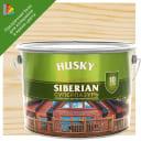 Лазурь для дерева Husky Sib «Суперлазурь» полуглянцевая прозрачная 9 л