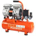 Компрессор безмасляный Patriot WO 10-120, 10 л 120 л/мин 0.65 кВт