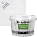 Антисептик Akvateks база A полуматовый белый 9 л