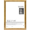 Рамка Olivia, 15x20 см, пластик, цвет золото