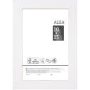 Рамка Alisa, 10x15 см, цвет белый