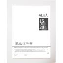 Рамка Alisa, 15x20 см, цвет белый