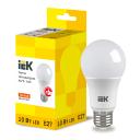Лампа светодиодная IEK E27 175-250 В 10 Вт груша матовая 900 лм теплый белый свет
