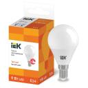 Лампа светодиодная IEK E14 175-250 В 9 Вт шар матовая 810 лм теплый белый свет
