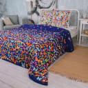 Комплект постельного белья «Вихрь бабочек» двуспальный, бязь