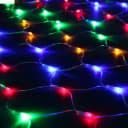 Электрогирлянда внутренняя РЕПКА Сеть 160LED разноцветная 8 режимов работы 12825