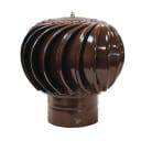 Турбодефлектор ТД-200 Окрашенный металл коричневый