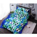 Комплект постельного белья полутораспальный Ночь Нежна Футбол, бязь